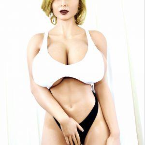 Nastia: Vaalea, isotissinen seksinukke