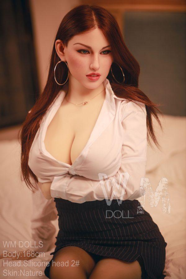 Katya: Lifelike Silicone Head Sex Doll